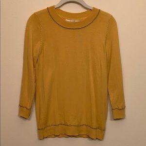 Boden knit 3/4 sleeve lightweight wool sweater.